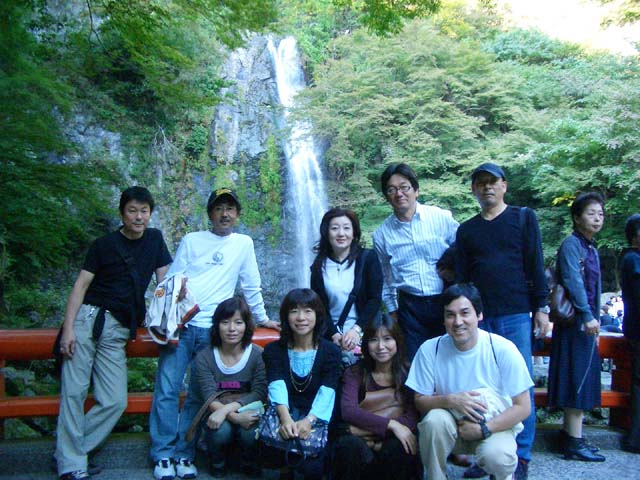 秋の特別企画「箕面の滝ハイキング&銀なべ」