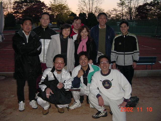 テニス 万博公園