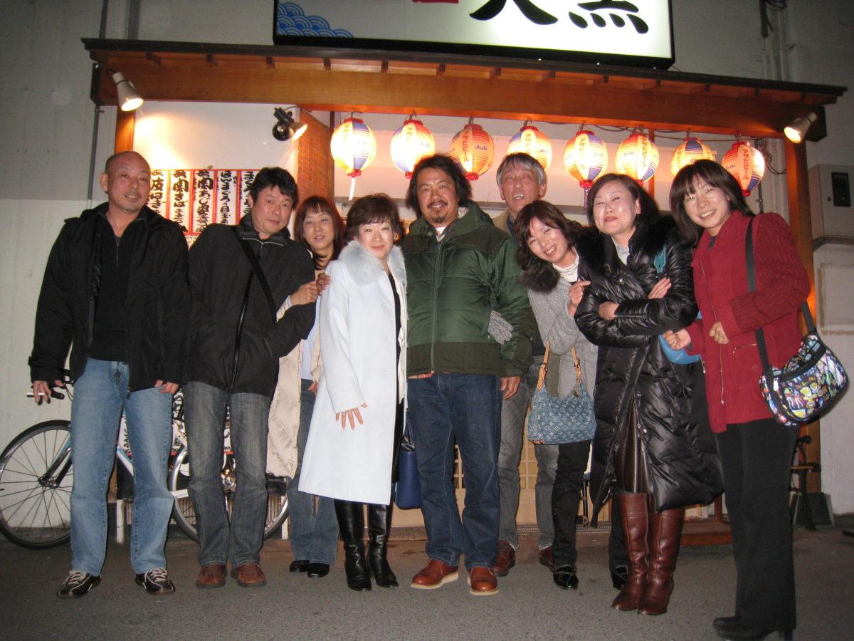 シュラク帰国歓迎会「大黒」「キリシタンカフェ」